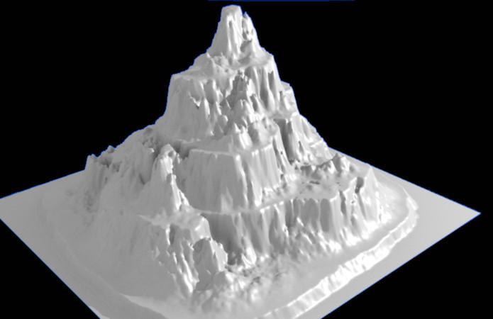 Blenderで山を作る
