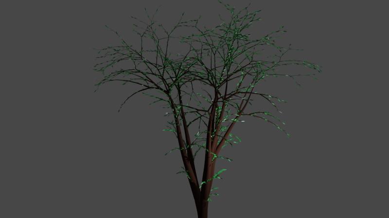 Blenderで木を作る